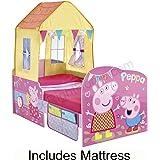 Peppa Pig Startime Fonction lit pour enfant + entièrement Matelas à ressorts