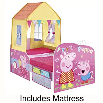 Peppa Pig Startime Toddler Feature Bed Foam Mattress
