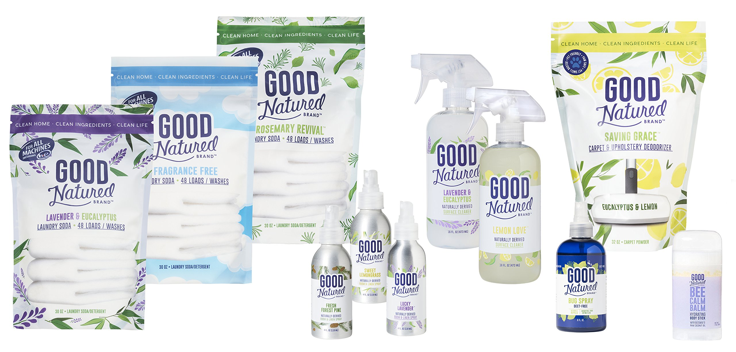 Good Natured Brand The Best All-Natural Pet-Friendly Eco-friendly Saving Grace Carpet & Upholstery Deodorizer, 32 oz. by Good Natured Brand (Image #1)