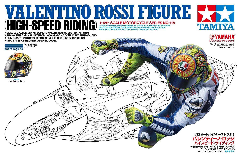 Amazon Tamiya Valentino Rossi Rider Figure 112 Toys Games – Valentino Rossi Birthday Card