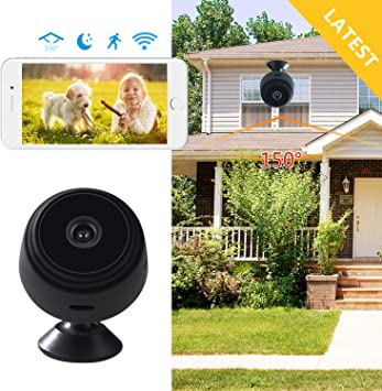 Amazon Com Hidden Wifi Camera Spy Camera Wireless Home Security
