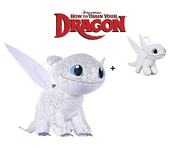 Dragons, Como entrenar a tu dragón - Peluche Furia Luminosa ...