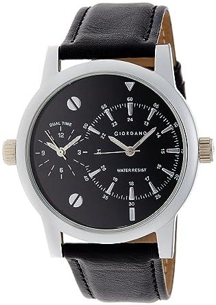 Giordano Analog Black Dial Men's Watch - 60056 DTL (P3052)