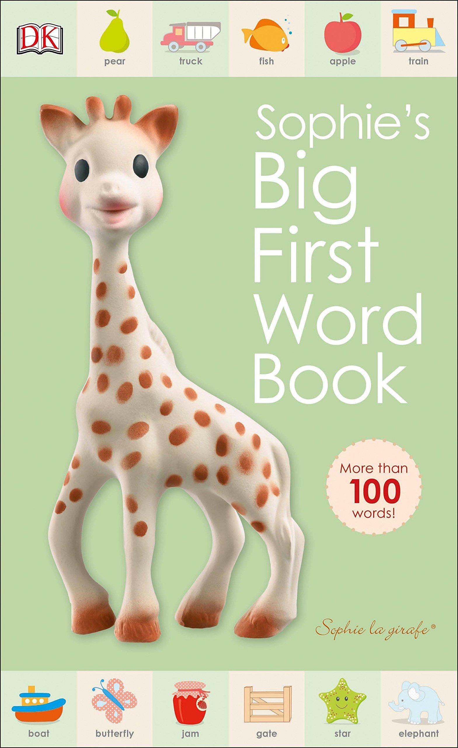 Read Online Sophie la girafe: Sophie's Big First Word Book pdf