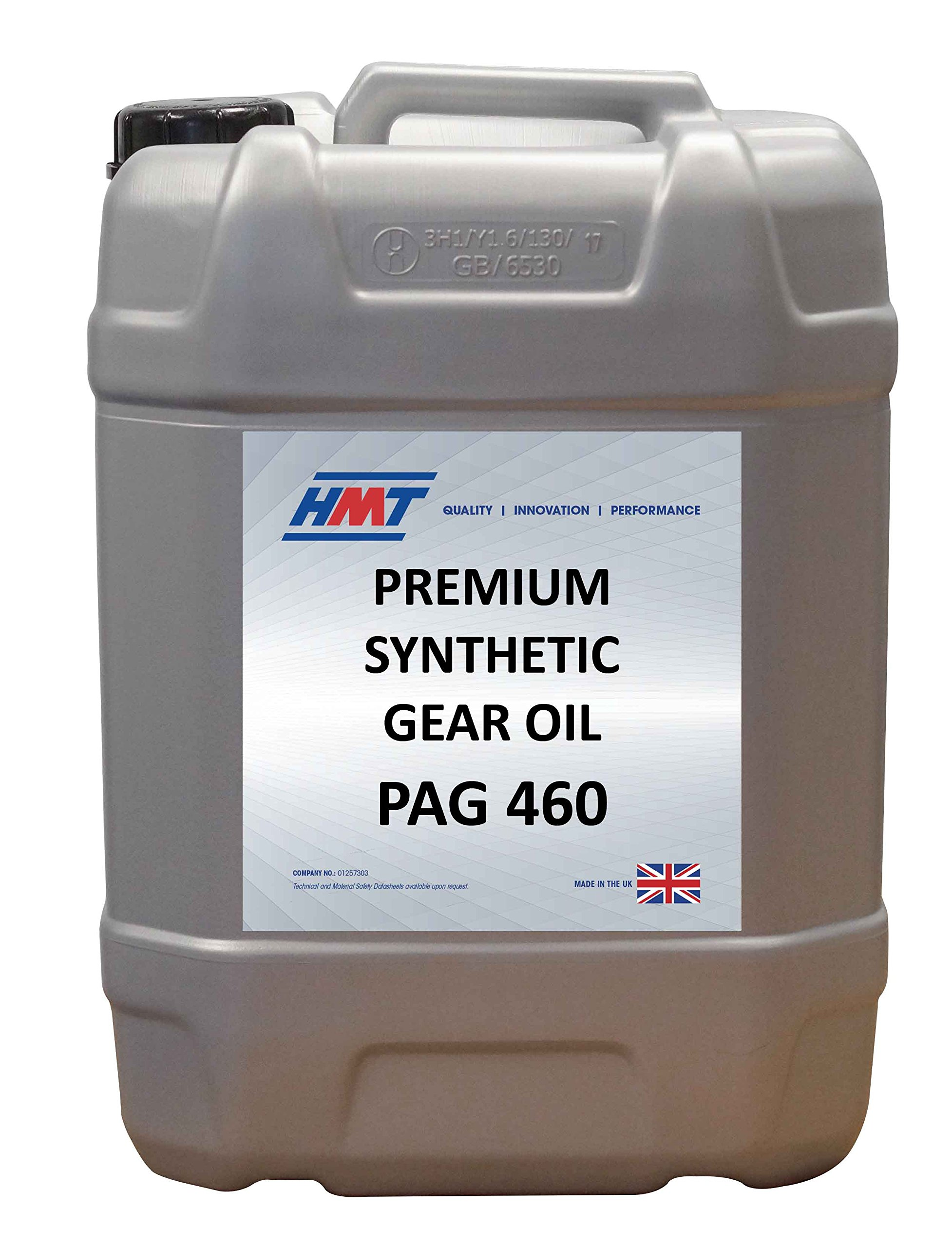 HMTG048 Premium Synthetic Industrial Gear Oil PAG 460 - 25 Litre Plastic by HMT