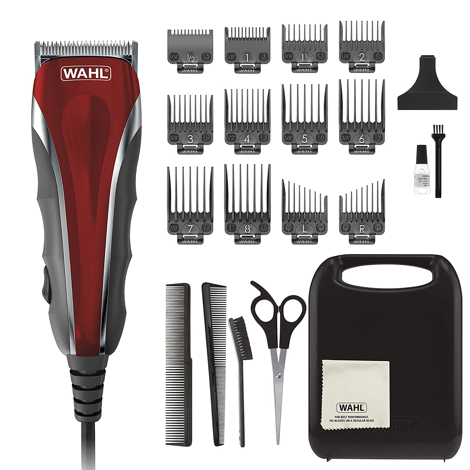 Amazon Com Wahl Model 79607 Clipper Compact Multi Purpose Haircut Beard Body Grooming Hair Clipper Trimmer With Extreme Power Easy Clean Blades Beauty