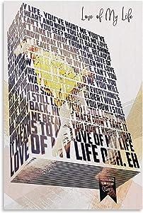 CAPTIVATE HEART Lienzo de Pintura de Arte 60x80cm sin Marco Love of My Life póster artístico e impresión de imágenes artísticas de Pared Carteles de decoración de Dormitorio Familiar Moderno