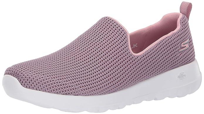 Skechers Womens GO Walk JOY-15637 Sneaker Mauve 6.5 M US