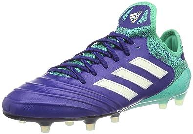 premium selection d57d5 6e3b4 adidas Herren Copa 18.1 FG Fußballschuhe blaugrün, 42 EU