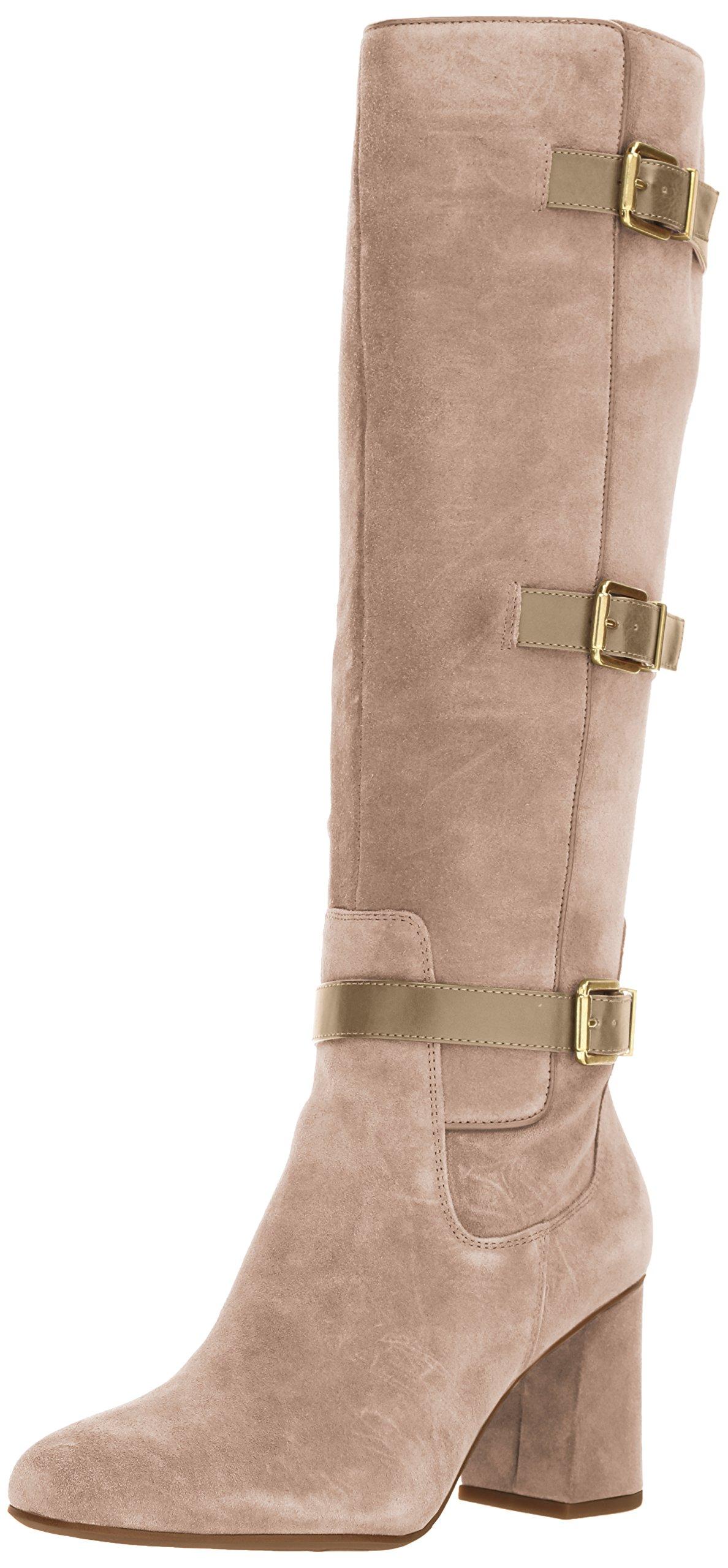 Franco Sarto Women's Knoll Knee High Boot, Cocco, 8.5 Medium US
