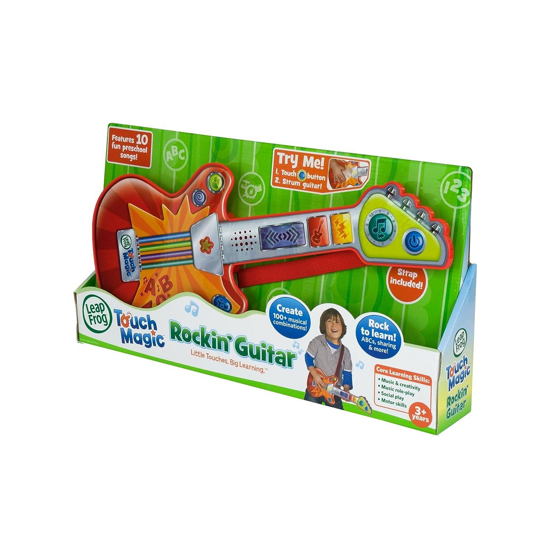 Amazon.es: LeapFrog Touch Magic Rockin Guitar - juguetes musicales (Alcalino, Naranja, Rojo, Color blanco)