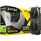 ZOTAC GeForce GTX 1080 AMP! Edition, ZT-P10800C-10P, 8GB GDDR5X IceStorm Cooling, Metal Wraparound Carbon ExoArmor exterior, Ultra-wide 100mm Fans Gaming Graphics Card (Renewed)