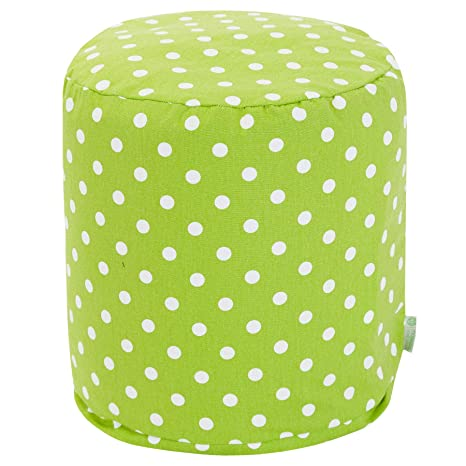 Amazon.com: Majestic Home Goods (16 x 16 x 17 pequeñas Pouf ...