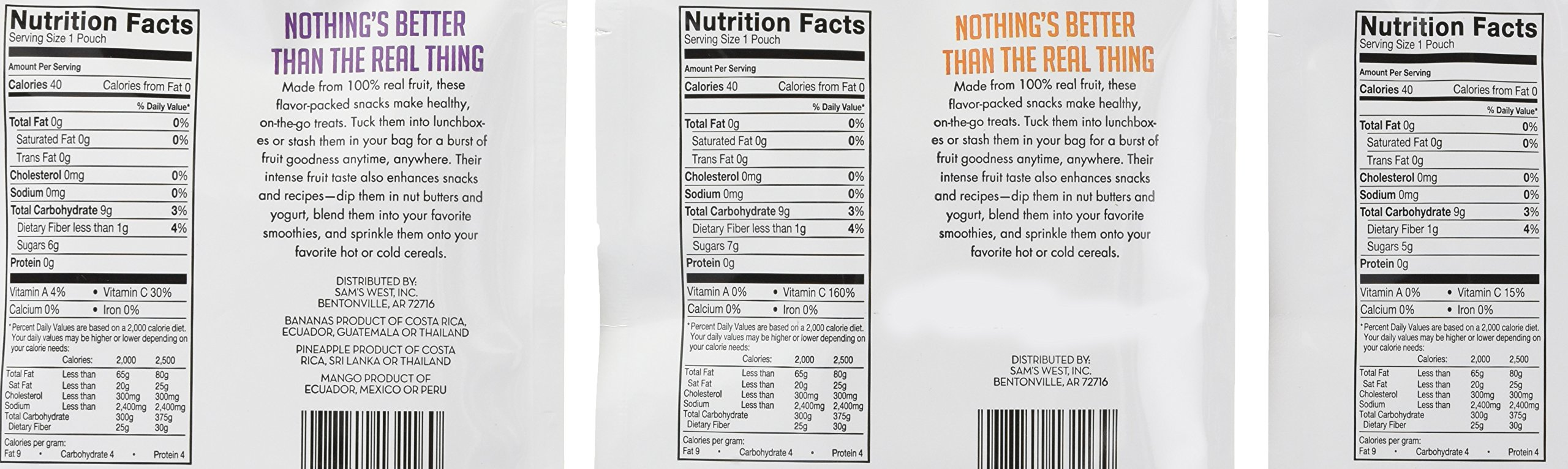 Member's Mark Freeze-Dried Fruit Snacks, 7.05 Ounce by Member's Mark (Image #2)