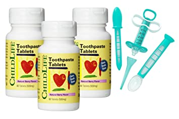 Amazon.com: Niño Vida pasta dental Tablets – 60 Tablets ...