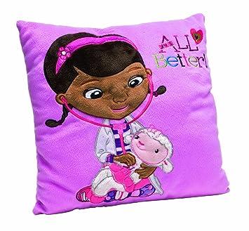 Amazon.com: Disney Doc McStuffins – Cojín bordado: Toys & Games