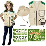 Kids Explorer Costume including Safari Vest and Hat - Perfect gift for boys and girls aged between 3-7 - Role play as paleont