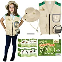 Kids Explorer Costume including Safari Vest and Hat - Perfect gift for boys and girls aged between 3-7 - Role play as…
