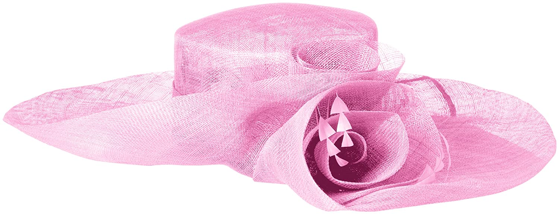 90a1cd098 Scala Women's Sinamay Split Brim, Orchid, One Size at Amazon Women's ...