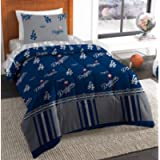 MLB Dodgers Twin Bed in a Bag Complete Bedding Set #802195105