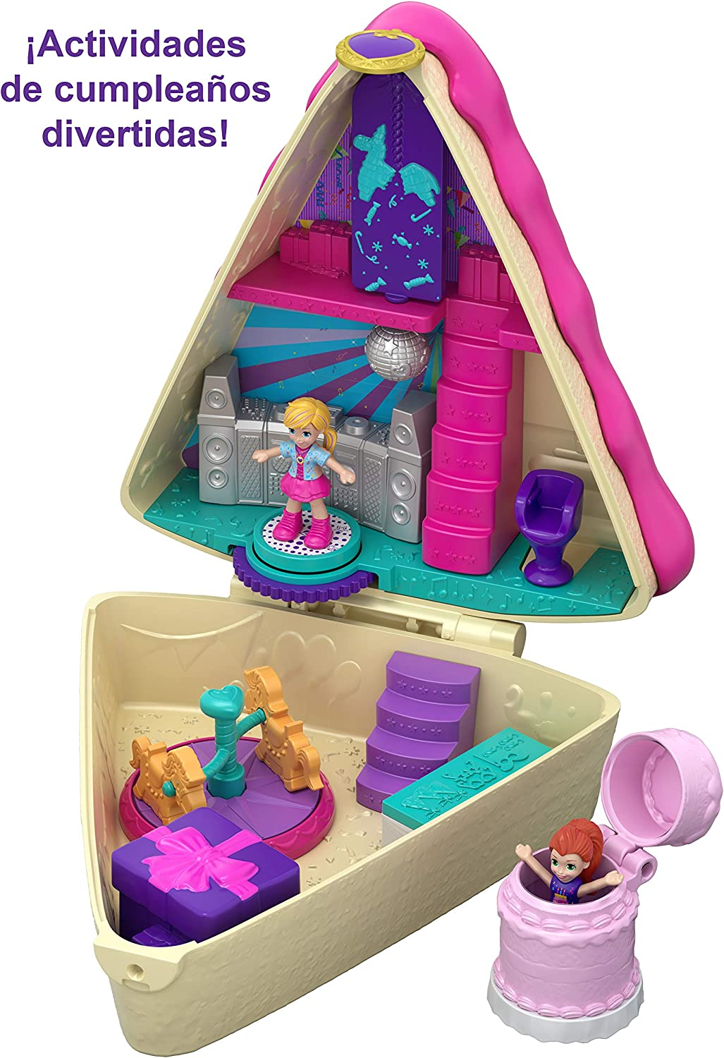 Amazon.com: Polly Pocket Birthday Cake Bash: Toys & Games