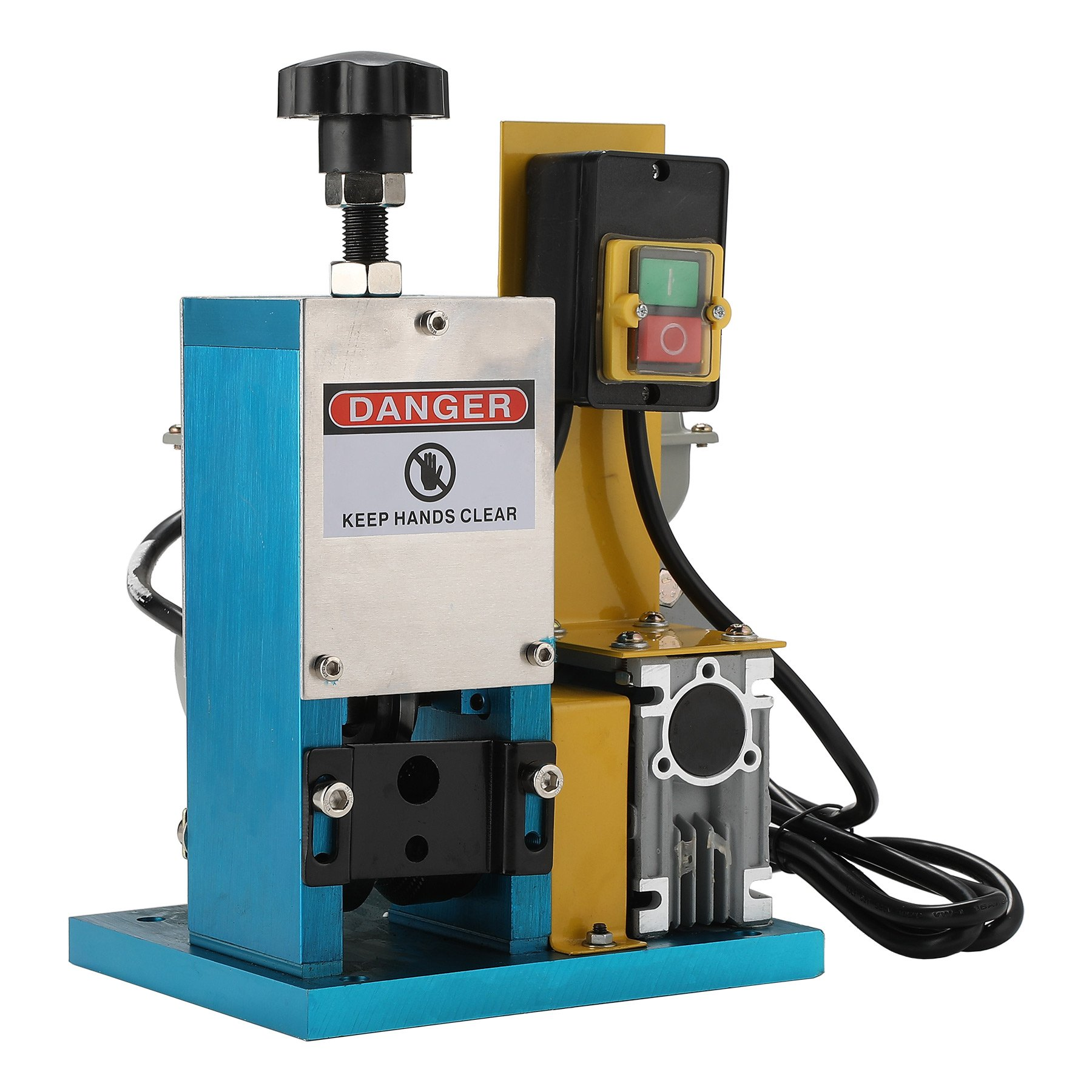 CO-Z Automatic Electric Wire Stripping Machine Portable Scrap Cable Stripper for Scrap Copper Recycling, including Extra Blade by CO-Z (Image #2)