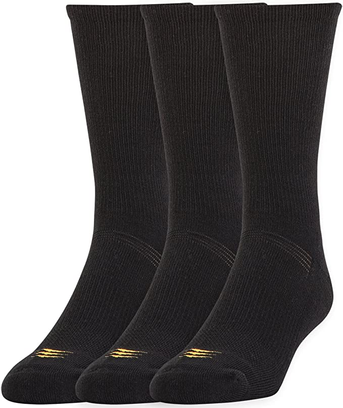 Large 1// 3-Pack    Color-Black  Size Powersox by Gold Toe Shoe-9-12.5
