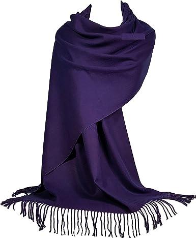 GFM Lana de cachemira suave sensación Pashmina bufanda de estilo para el otoño y el invierno (SB)