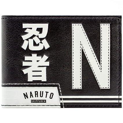 Cartera de Naruto Shippuden Última Academia Ninja Negro ...