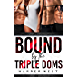 Bound by The Triple Dom's : a BDSM Reverse Harem Menage Romance (Satin Cages Book 1) (English Edition)
