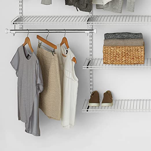 Amazon Rubbermaid Fg3h9100wht Configurations 26 Shelving Kit