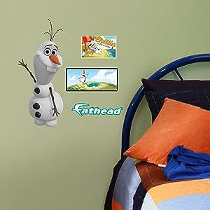 FATHEAD Disney Frozen Olaf Teammate Wall Decor
