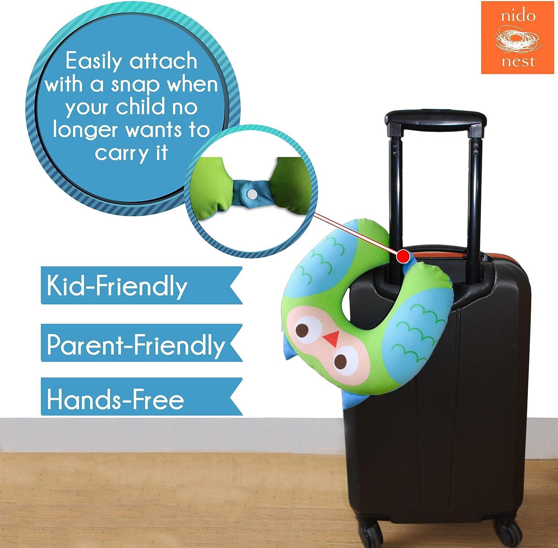 NIDO NEST Kids Neck Travel Pillows