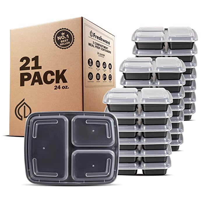 The Best 3 Part Food Storage Containers