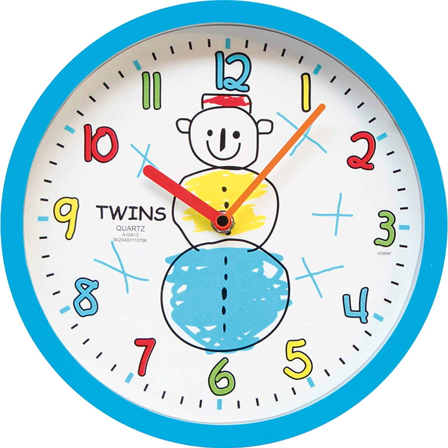 Zeit-Bar Twins - Reloj de Pared Infantil: Amazon.es: Juguetes y juegos