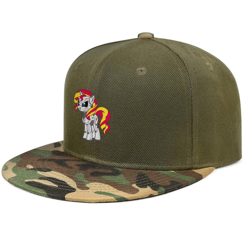Red Robot Unicorn Smirk Unisex Baseball Cap Two-Tone Stretch Snapback Hats Adjustable Trucker Caps Dad-Hat