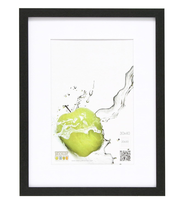 Deknudt Frames S66KD1-P1-20.0X25.0 - Cornice quadro / foto Basic, bordi in legno/MDF, colore argento, 20 x 25 cm