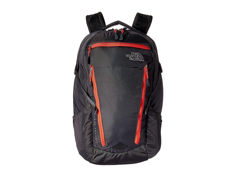 [ザ ノースフェイス] The North Face レディース Surge Transit Backpack バックパック [並行輸入品] B06Y1G8M2R Graphite Grey/Cayenne Red
