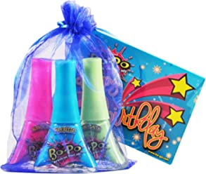 Bo-Po Polish Scented Birthday Pack with Blue Gift Bag (3 Piece)