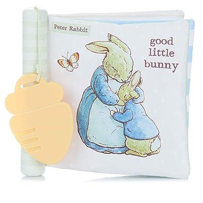 Beatrix Potter Peter Rabbit Soft Teether Book : Baby