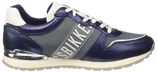 Bikkembergs Women's Pow-Er 659 Low-Top Sneakers, Blue (Nero), 37 EU:  Amazon.co.uk: Shoes & Bags