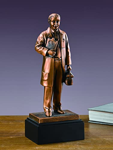 Medical Doctor Statue – Bronze Finish