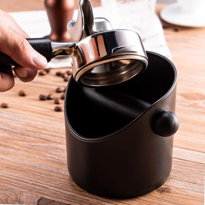 Coffee Knock Box Shock-absorbent Espresso Waste Bin Handle Coffee Grind u s