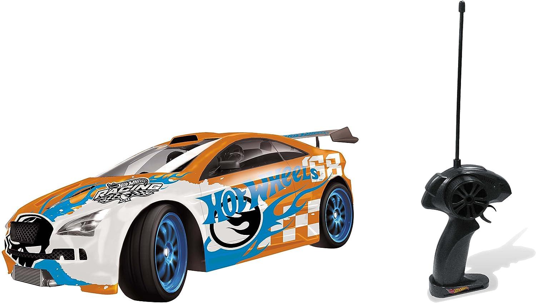 Coche con Mando Drift Car con Ruedas adicionales 63308 Mondo R//C Hot Whells