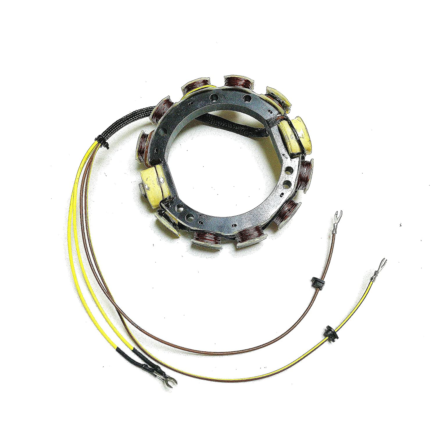 Jetunit Outboard Stator 12AMP 4Cyl For Johnson Evinrude 581680 582099 581303 581860 173-2099 85-140HP 1973-1977