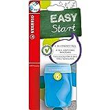 STABILO EASYsharpener - Blister Taille-crayon ergonomique bleu avec réservoir - Gaucher