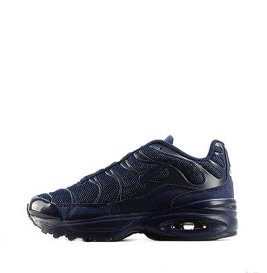 NIKE Air Max Plus (PS), Chaussures de Running garçon, Bleu Marine Minuit