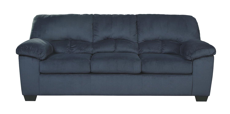 Ashley Furniture Signature Design - Dailey Sofa - Contemporary - Midnight Blue