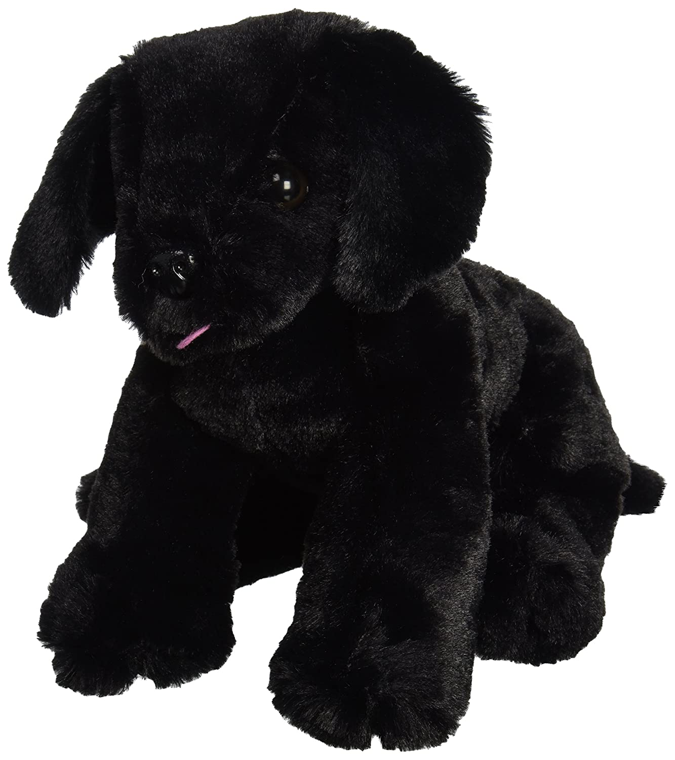 Melissa & Doug Benson Black Lab - Stuffed Animal Puppy Dog 7484