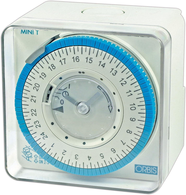 Orbis mini t qrd Interruptor horario anal/ógico mini t qrd 230v